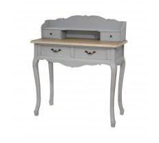 Kosmētikas galds Catania 16S/2B Platums: 90 cm, Dziļums: 40 cm, Augstums: 103 cm, Izgatavošanas materiāls: dabīgs koks, Ar atvilktnēm: 1, Atvilktņu skaits: 4