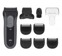 Braun Series 3 3000BT Shave&Style beard trimmer Gray