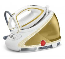 Tefal Pro Express Ultimate Care GV9581 steam ironing station 260 W 1.9 L Durilium Autoclean soleplate Gold,White