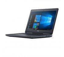 """JAUNUMS! Dell Precision 7520 - i7-7700HQ, 16GB DDR4, 256GB SSD, Quadro M2200m 4GB, 15.6"""" FullHD, Windows 10"""