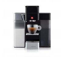 Kafijas automāts Illy Y5 ar piena sistēmu, melns