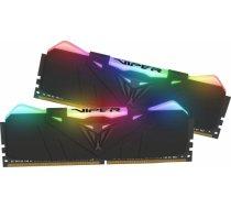 Patriot Viper RGB DDR4 Black 16GB 3200MHz CL16 DDR4 KIT OF 2 PVR416G320C6K PVR416G320C6K