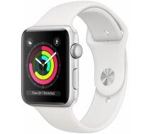 Apple Watch Series 3 42mm GPS Aluminium Silver/White Band MTF22MP/A