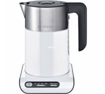 Bosch TWK8611P electric kettle 1.5 L Anthracite,Stainless steel,White 2400 W TWK 8611P