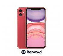 MOBILE PHONE IPHONE 11 64GB/RED RND-P14664 APPLE RENEWD RND-P14664