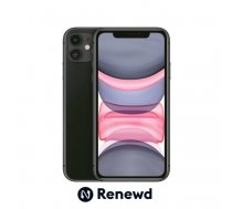 MOBILE PHONE IPHONE 11 64GB/BLACK RND-P14164 APPLE RENEWD RND-P14164