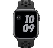 Apple Watch Nike Series 6 space grey aluminium 40mm 4G anthracite/black sport band DE M07E3FD/A