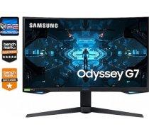 Samsung Monitor G7 240Hz WQHD 1ms G-SYNC LC27G75TQSRXE Odyssey LC27G75TQSRXEN