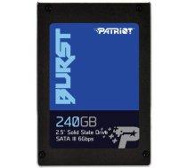 "Patriot Burst 240GB SATAIII 2.5"" PBU240GS25SSDR PBU240GS25SSDR"