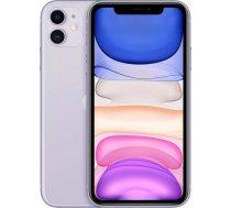 "Apple iPhone 11 15.5 cm (6.1"") Dual SIM iOS 14 4G 64 GB Purple MHDF3CN/A"