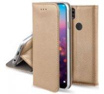 Smart Magnet Book Case priekš Samsung Galaxy S10 Plus G975 - Zelts - sāniski atverams maciņš ar stendu (ādas maks, grāmatiņa, leather book wallet case cover stand)
