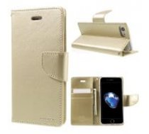 Mercury Bravo Flip Case priekš Samsung Galaxy S10 Plus G975 - Zelts - sāniski atverams maciņš ar stendu (ādas grāmatveida maks, leather book wallet cover stand)
