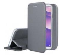 Forcell Elegance book case priekš Samsung Galaxy S10 Plus G975 - Pelēks - sāniski atverams maciņš ar stendu / grāmatveida maks