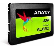 """ADATA Ultimate SU650 120GB 2.5"""" *IR UZ VIETAS!* SATA III ASU650SS-120GT-R Retail   ASU650SS-120GT-R    4713218461155"""