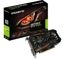 Gigabyte GeForce GTX 1050Ti Windforce OC 4GB GDDR5 (GV-N105TOC-4GD)   GV-N105TOC-4GD    7891196001246