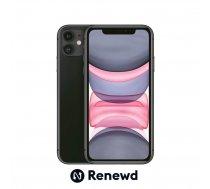 MOBILE PHONE IPHONE 11 64GB/BLACK RND-P14164 APPLE RENEWD | RND-P14164  | 8720039733145
