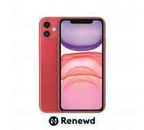MOBILE PHONE IPHONE 11 64GB/RED RND-P14664 APPLE RENEWD | RND-P14664  | 8720039733176
