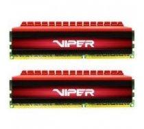 PATRIOT Viper 4 8GB (2x4GB) DDR4 CL16 3000MHz PV48G300C6K Red   PV48G300C6K    814914020241