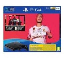 Sony Playstation 4 Slim 1TB (PS4) Black + FIFA 20 | T-MLX34777  | 7117199745056
