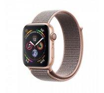 Apple Watch Series 4 44mm Gold Aluminum Pink Sand Sport Loop (GPS) MU6G2