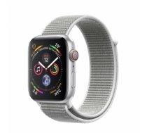 Apple Watch Series 4 40mm Silver Aluminum Seashell Sport Loop (GPS) MU652