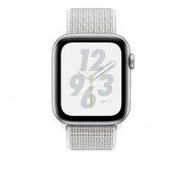 Apple Watch Nike+ Series 4 GPS , 44mm  MU6K2EL/A Aluminum Case  Silver