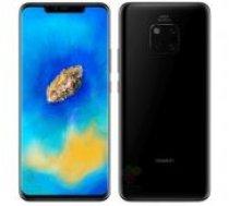 Huawei Mate 20 Pro Dual SIM Black, BALTIC, LMT garantija