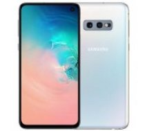 Samsung G970 Galaxy S10e 128GB Dual SIM Prism White balts