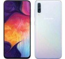 Samsung A505 Galaxy A50 Dual SIM 4 / 128GB White balts
