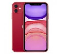 Apple iPhone 11 64GB Red sarkans