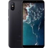 - Xiaomi Mi A2 4/64GB DS USED mazlietots Black melns