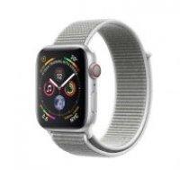 Apple Watch Series 4 40mm Silver Aluminum Seashell Sport Loop  GPS  MU652 sudrabs Smart-pulkstenis
