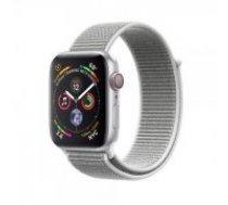 Apple Watch Series 4 44mm Silver Aluminum Seashell Sport Loop GPS MU6C2 sudrabs Smart-pulkstenis
