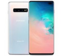 Samsung G975F/DS Galaxy S10 Plus Dual LTE 128GB Prism white balts