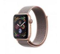 Apple Watch Series 4 44mm Gold Aluminum Pink Sand Sport Loop GPS MU6G2 zelts rozā Smart-pulkstenis