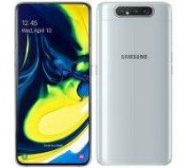 Samsung A805F/DS Galaxy A80 Dual LTE 128GB Ghost white balts