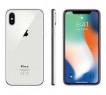 Apple iPhone X 64GB silver MQAD2 UK sudrabs