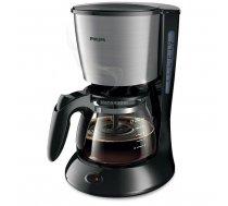 Philips Daily Collection HD7435/20 kafijas automāts, melns/nerūsējošais tērauds