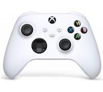 Microsoft Xbox Wireless Controller White Balts Bluetooth/USB Spēļu paliktnis Analogā / digitālā Xbox Series S, Xbox Series X, Xbox One, Xbox One S, Xbox One X