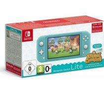 Nintendo Konsola Nintendo Switch Lite Turquoise + Animal Crossing: New Horizon + NSO (3 miesiące)