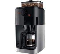 Philips Grind & Brew Coffee maker HD7767/00 With glass jug Integrated coffee grinder Black & metal W HD7767/00