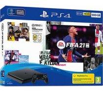 Spēļu konsole PlayStation 4 Slim, Sony / 500 GB + FIFA 21 711719828723