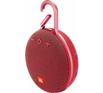 Portable Speaker|JBL|CLIP 3|Portable/Waterproof/Wireless|1xAudio-In|1xMicro-USB|Bluetooth|Red|JBLCLI JBLCLIP3RED