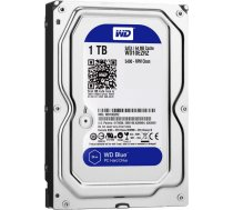 "HDD|WESTERN DIGITAL|Blue|1TB|SATA 3.0|64 MB|5400 rpm|3,5""|WD10EZRZ WD10EZRZ"