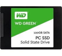 "SSD|WESTERN DIGITAL|Green|120GB|SATA 3.0|TLC|Read speed 545 MBytes/sec|2,5""|MTBF 1000000 hours|WDS12 WDS120G2G0A"