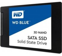 SSD|WESTERN DIGITAL|Blue|1TB|SATA 3.0|TLC|Write speed 530 MBytes/sec|Read speed 560 MBytes/sec|2,5"