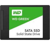 "SSD|WESTERN DIGITAL|Green|480GB|SATA 3.0|TLC|Read speed 545 MBytes/sec|2,5""|MTBF 1000000 hours|WDS48 WDS480G2G0A"
