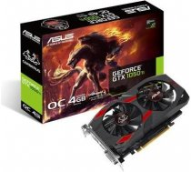 Graphics Card|ASUS|NVIDIA GeForce GTX 1050 TI|4 GB|128 bit|PCIE 3.0 16x|GDDR5|Memory 7008 MHz|GPU 13 CERBERUS-GTX1050TI-O4G