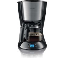 Philips Daily Collection Coffee maker HD7459/20 With glass jug With timer Black & metal / HD7459/20 HD7459/20