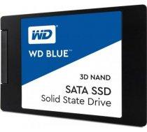 SSD|WESTERN DIGITAL|Blue|500GB|SATA 3.0|TLC|Write speed 530 MBytes/sec|Read speed 560 MBytes/sec|2,5 WDS500G2B0A
